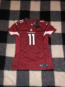 nike on field arizona cardinals larry fitzgerald #11 womens jersey size medium