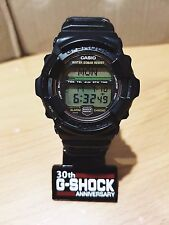 Vintage G-Shock Titanium Rare 1st Edition MRG-1 All Black Gold Button Limited