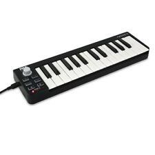 Pyle Compact MIDI Keyboard - USB Digital Piano Controller (PMIDIKB10)