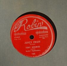 Tiny Grimes Red Robin 123 Second Floor Rear and Juicy Fruit