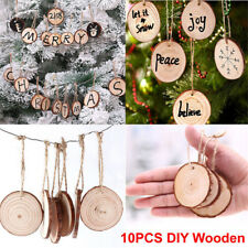 Wooden Christmas Ornaments Paint Ebay