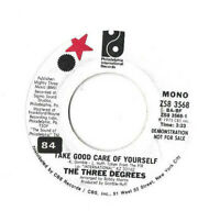 THE THREE DEGREES * TAKE GOOD CARE OF YOURSELF * US DEMO PHILADELPHIA ZS8 3568