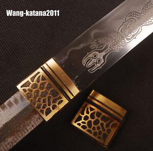 Brass Habaki Leopard Collar for Japanese Samurai Katana Maintenance Replacment
