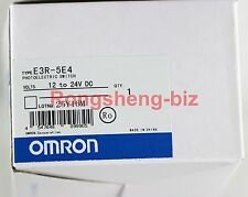 New Omron Photoelectric Switch Sensor E3R-5E4(E3R-5DE4&E3R-5L) 12-24VDC