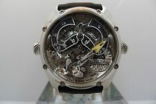 NORD ZEITMASCHINE FREESDIAL RARE COMPLICATED NEW STEEL PRE ORDER MB&F URWERK