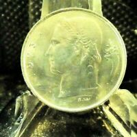 CIRCULATED 1973 1 FRANC BELGIE COIN (62919)1.....FREE DOMESTIC SHIPPING!!!!!