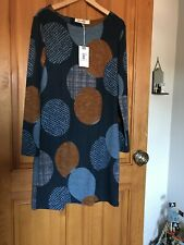 Lily And Me Orchard Dress Large Circles Dress Size 10   Bnwt £ 47.