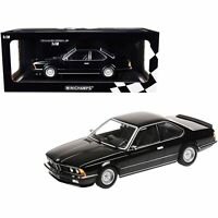 Minichamps 1982 BMW 635 CSi Black Metallic Limited Edition to 504 pieces Worl...
