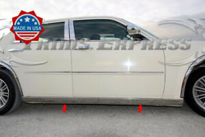 fit for 2005-2010 Chrysler 300 4p Luxury FX Chrome Window Package w//o Posts