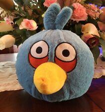 "ANGRY BIRDS BLUE Bird 11"" tall PLUSH STUFFED ANIMAL Commonwealth No Sound"