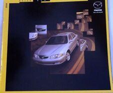 2000 00 Mazda 626  original sales brochure mint