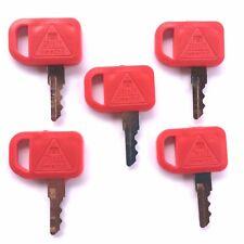 (5) John Deere Skid Steer Heavy Equipment Ignition Keys T209428