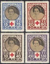Romania 1945 Red Cross/Medical/Health/Welfare/Royalty 4v set (n28886)