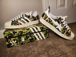 Adidas Superstar x Bape - ABC Camo Green | Size 10 | New In Original Box GZ8981