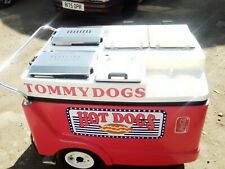 More details for hotdog cart , excellent condition , custom made top and cover