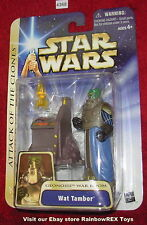 Star Wars 2003 WAT TAMBOR GEONOSIS WAR ROOM 3.75 Figure MOC