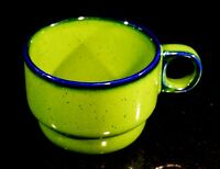 Beautiful Vintage Thomas of Germany Scandic Shadow Green Coffee Cup