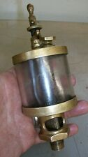 OHIO INJECTOR CO Gas Engine CYLINDER OILER No. 4 Hit and Miss Brass Lubricator