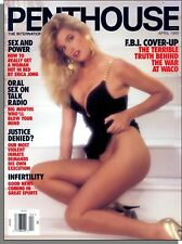 Penthouse - 1995, April - FBI Cover-Up at Waco, How to Get a Woman Hot in Bed!