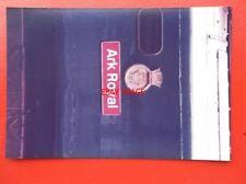 PHOTO  CLASS 50 DIESEL NAMEPLATE - 50 035 ARK ROYAL (V1)