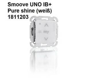Somfy Smoove UNO IB+ Pure weiß Steuerung für Rolläden Markisen Screens Fenster