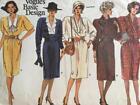 Vogue Sewing Pattern 1607 Misses Ladies Dress Size 8-12 Uncut
