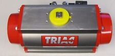 TRIAC 2R300DAR RACK & PINION DOUBLE ACTING AIR PNEUMATIC VALVE ACTUATOR