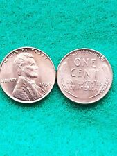 1954-D  Uncirculated Lincoln Wheat  penny
