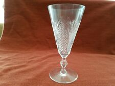 Waterford Crystal Dunmore Pattern Fluted Champagne Glasses