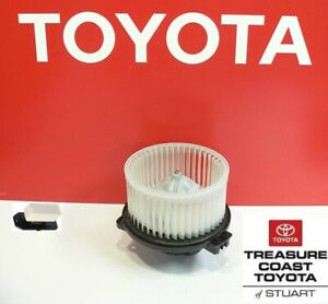 NEW OEM TOYOTA TUNDRA 2000-2006 DOUBLE CAB FACTORY BLOWER MOTOR & RESISTER