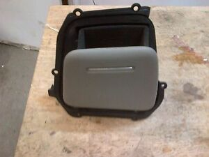 04-08 AUDI A8 REAR RIGHT PASSENGER  DOOR PANEL STORAGE COMPARTMENT HOLDER GREY