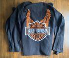 Harley+Davidson+Branded+Wearable+Blanket+With+Sleeves+Fleece+By+Northwest