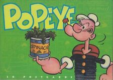 Popeye 30 Postcards in Book Complete With All 30 postcards, Unposted/Unused 1997