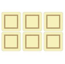 Pimpernel Classic Cream Coasters Set of 6