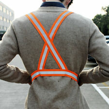 High Visibility Safety Clothing Chaleco Neon Reflective Vest Belt Outdoor