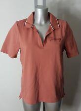 Tommy Hilfiger Designer Herren Peach/Pink Polokragen Tshirt Top Größe S 94-98 cm