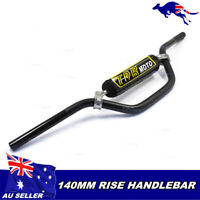 TDR MOTO ALLOY HANDLE BARS pad fitted Pit Dirt bike 7/8 XR50 CRF50 KLX110 DRZ11