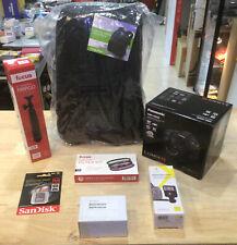 Panasonic LUMIX G DMC-G85M Camera + 12-60mm Lens, Focus 58MM 3pc Filter Kit, ETC
