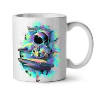 Space Sea Shark Fashion NEW White Tea Coffee Mug 11 oz | Wellcoda