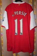 ARSENAL LONDON 2006 2007 FOOTBALL SHIRT JERSEY NIKE #11 VAN PERSIE