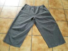 Rundholz black Label,7/8 Hose/Leinenhose,grau,Gr.M,groß,LagenlookTraumteil