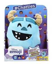 Disney Emoji #chatties Monsters Inc Sulley Plush With Sound Effects