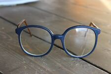 Vintage Hipster Nerd Ivy Hall Eye Glasses Two Tone Pure Awesome Sauce