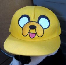 ADVENTURE TIME baseball hat Cartoon Network cap Jake the Dog yellow Land of Ooo