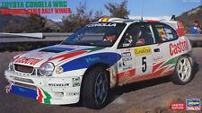 HASEGAWA 1:24 TOYOTA COROLLA WRC 1998 MONTE CARLO RALLY WINNER ART.  20266