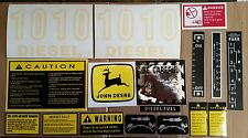 John Deere 1010 Hood & Safety Decal Set