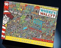 Où Est Wally? The Wild, Far West 1000 Pièce Puzzle 680mm x 480mm (Pl)