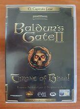 JUEGO PC CD-ROM BALDUR'S GATE II THRONE OF BHAAL CASTELLANO