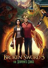 BROKEN SWORD 5 V: LA MALEDIZIONE DEL SERPENTE - Steam key PC ITALIANO - ROW