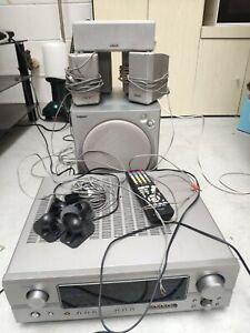 SONY 5.1 Hi-Fi speaker+Denon AVR-1306 Surround Sound Receiver AV Amplifier DOLBY